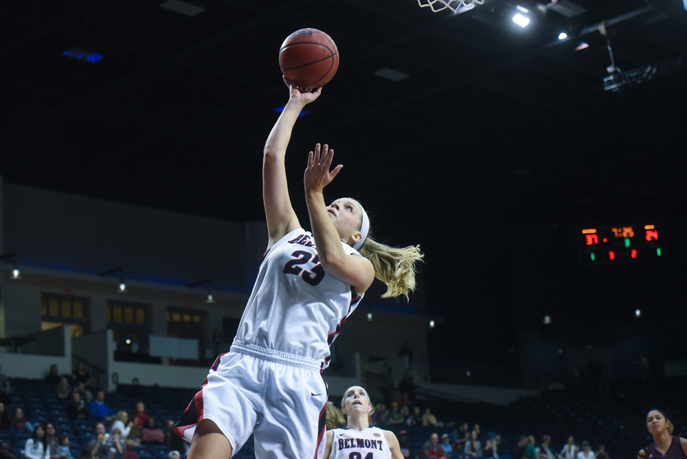 Second Half Surge Pushes Belmont to Win