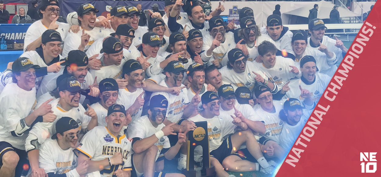 Embrace The Championship: Merrimack Defeats Saint Leo to Claim First Men's Lacrosse National Title in Program History