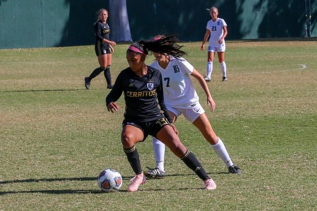 File Photo: Valeria Corrilo scored a goal and added an assist in the Falcons win
