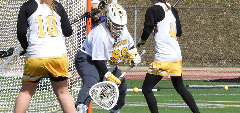 Freshman goalkeeper Ashleigh Hildreth set a single-game school record with 18 saves (Photo courtesy of Lori Moran)