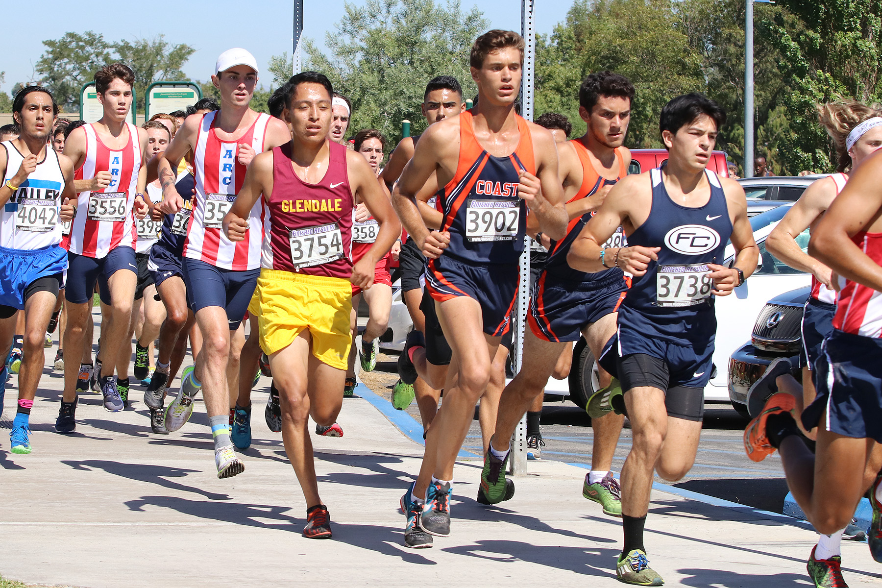 Coast men take 10th at SoCal Preview Meet