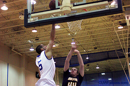 Balanced attack leads Men's Basketball to victory