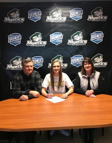 Carlie Kieffer Signs Letter of Intent to Play Volleyball for the Mystics