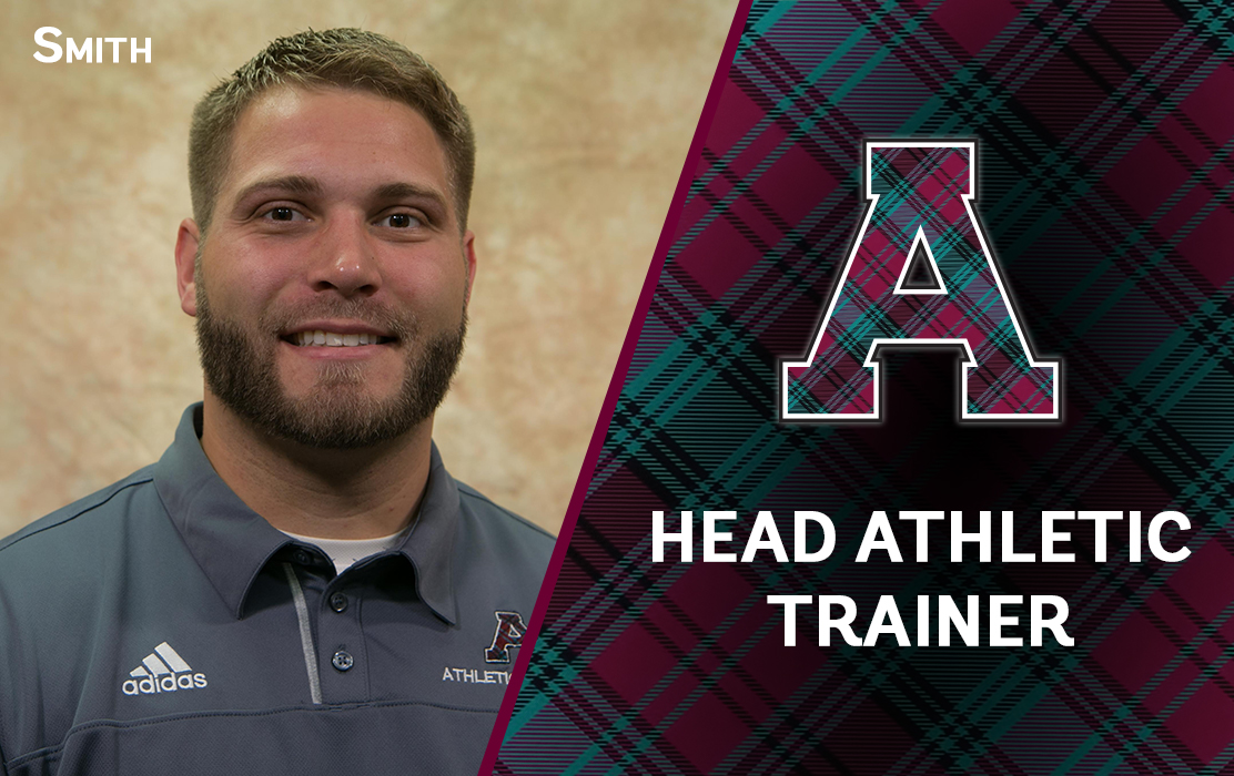 Brad Smith Promoted to Head Athletic Trainer