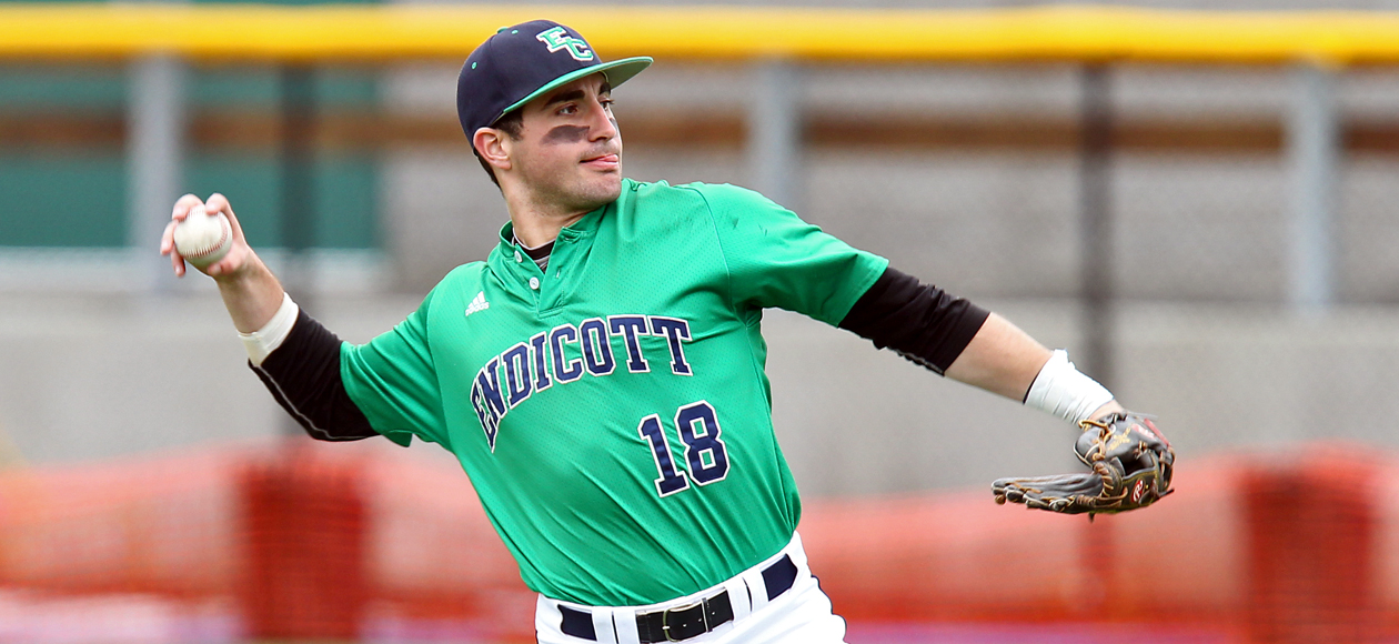 Endicott's Starting Pitching, Big Bats Silences Curry in CCC Doubleheader