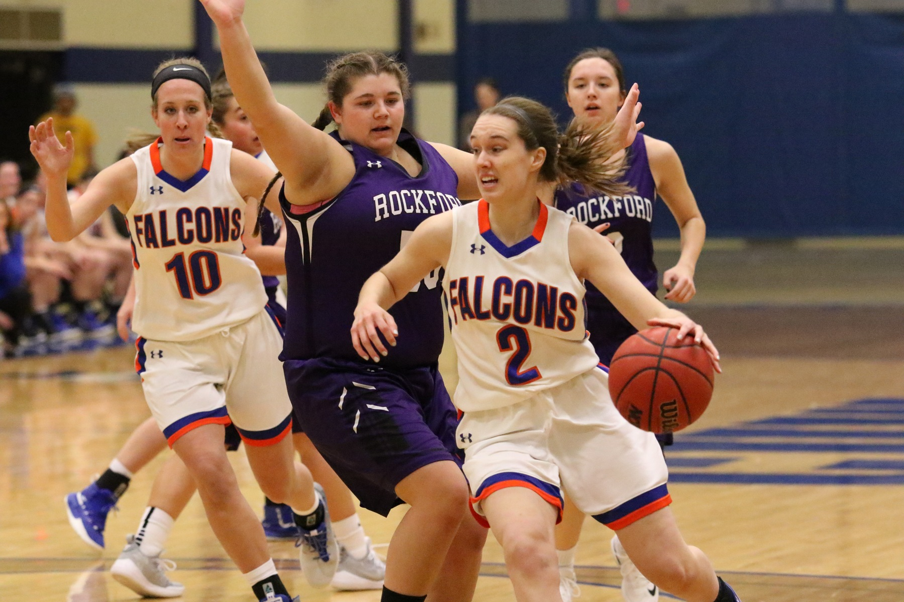 Women's Basketball rams Rockford, wins eighth straight