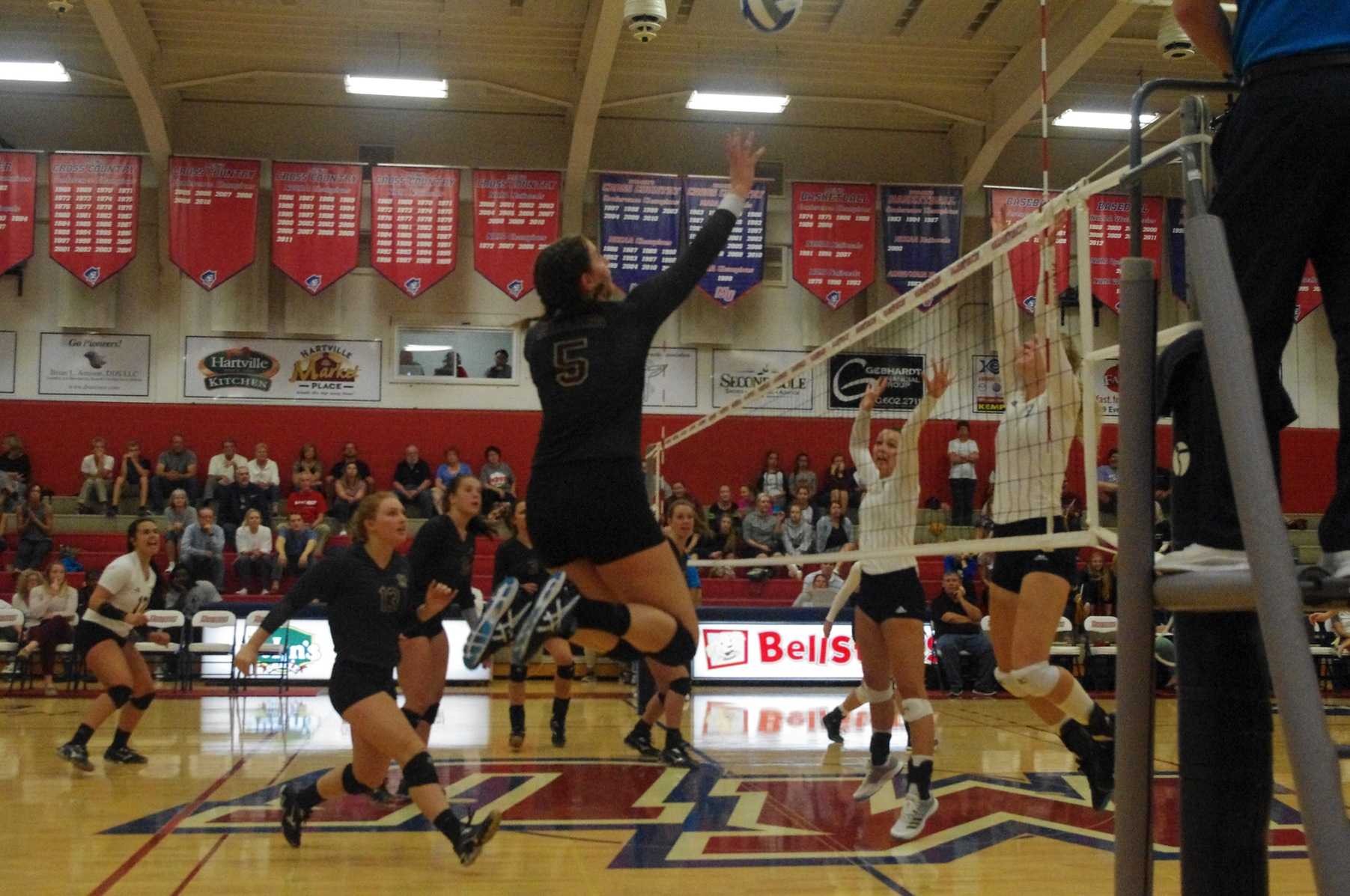 Volleyball Falls to Rockhurst