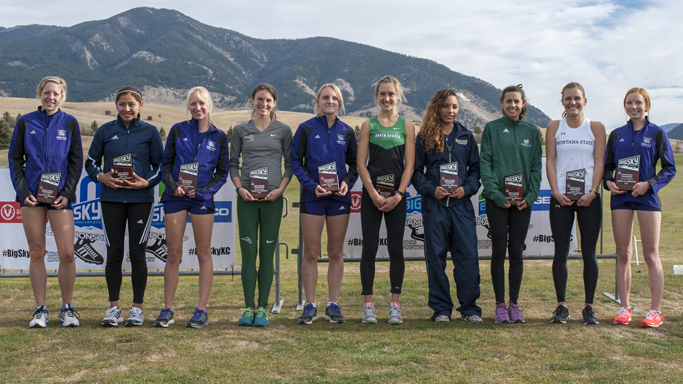 MITCHELL EARNS ALL-BIG SKY HONORS AT CONFERENCE CHAMPIONSHIPS