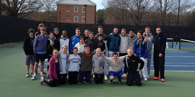N.C. Wesleyan Hosts Invitational Doubles Tourney