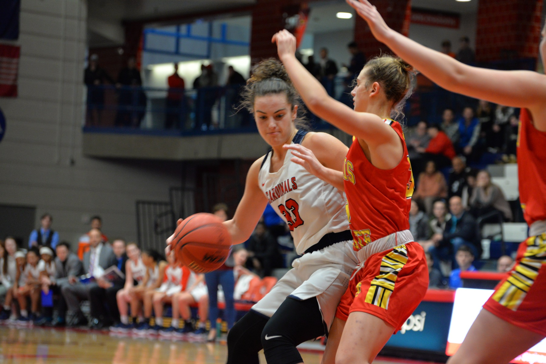 Lady Cardinals Drop Season Opener to Bellarmine Despite Duffy's Double-Double