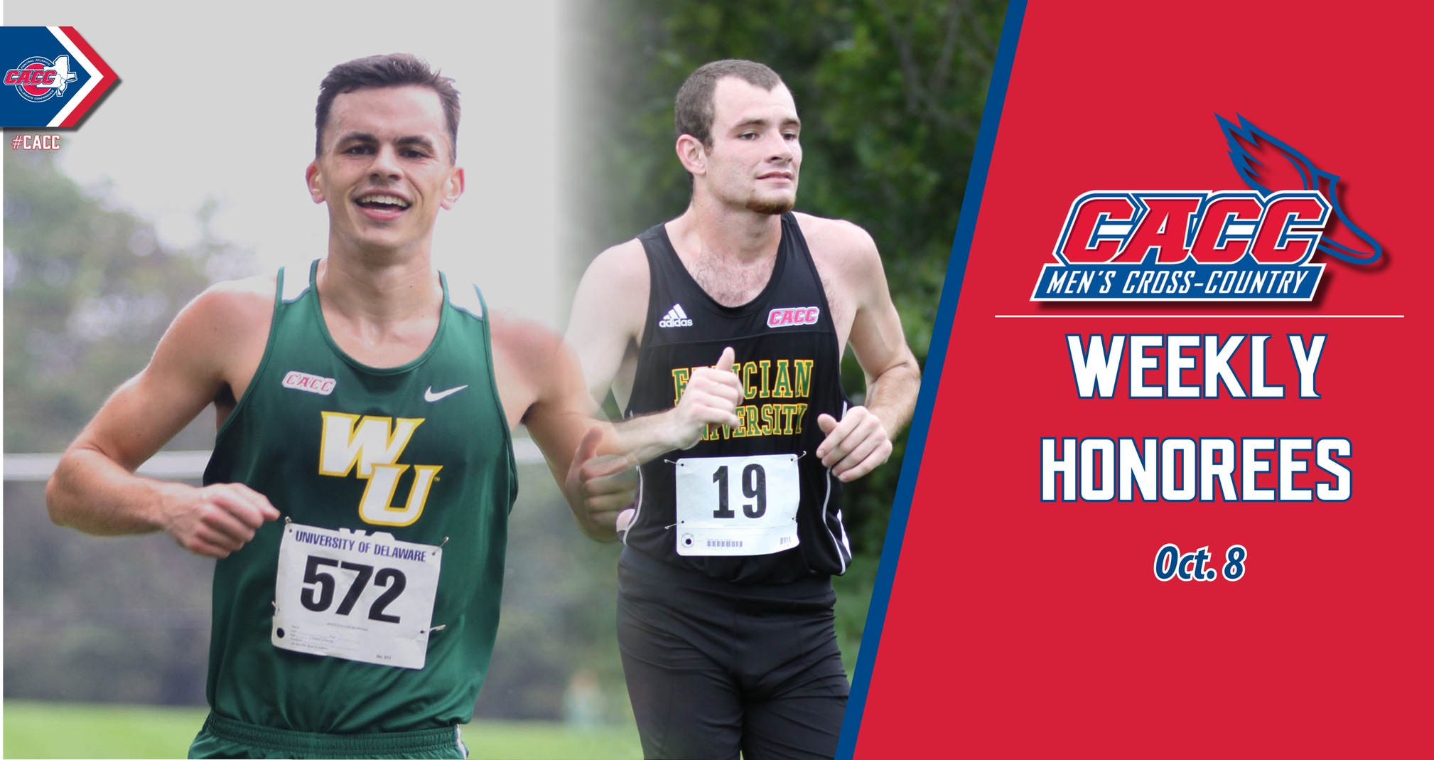 CACC Men's Cross Country Weekly Honorees (Oct. 8)