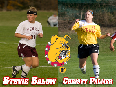 Women's Soccer Names Palmer and Salow 2009 Captains