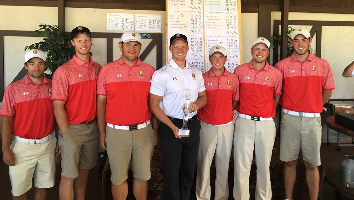 Ferris State Men's Golf Wins Third-Straight Tournament As 'Dawgs Capture Kyle Ryman Memorial