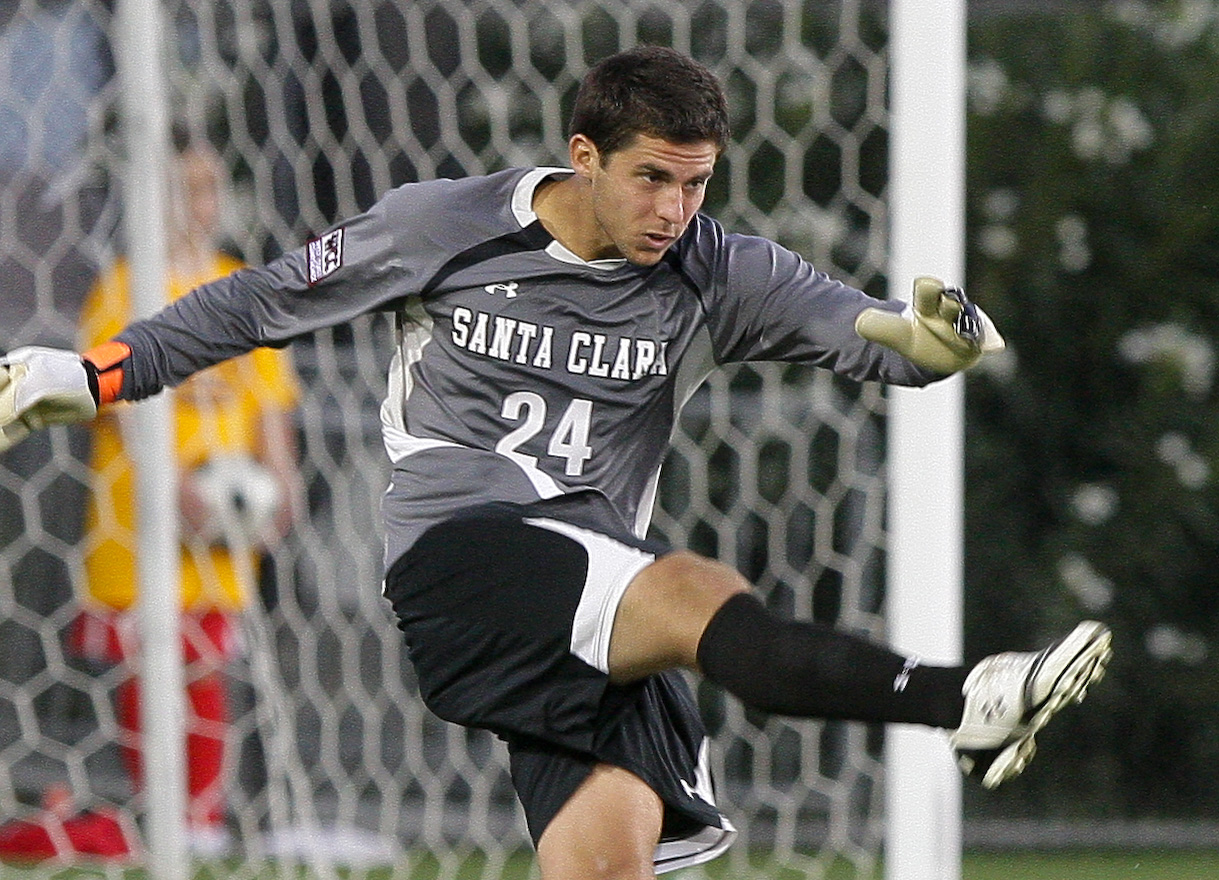 SCU Goalkeeper Kevin Klasila Named WCC Player of the Week