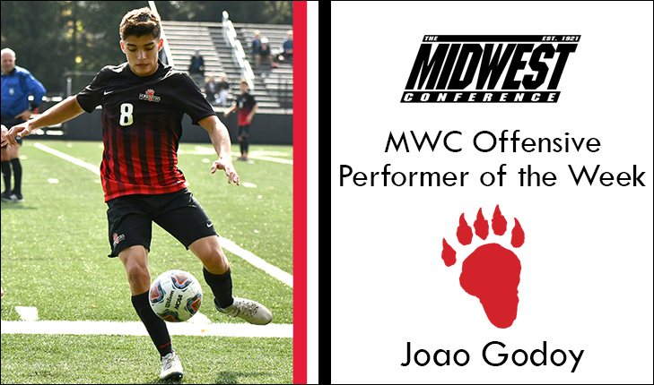 Joao Godoy Named MWC Offensive Performer of the Week