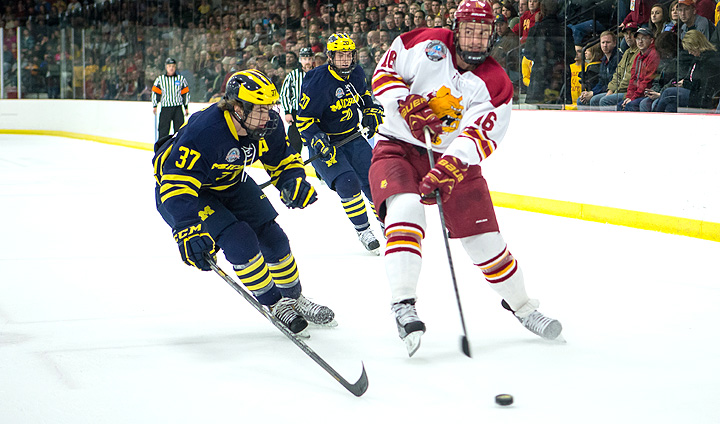 PREVIEW: Dawgs Visit Michigan For Final CCHA Regular-Season Series This Week