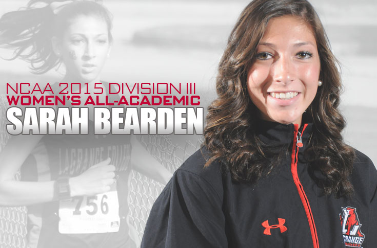 Cross Country: Sarah Bearden earns NCAA Division III Women's All-Academic honors