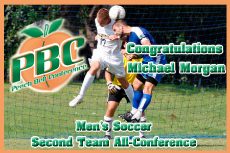 Morgan named All-PBC