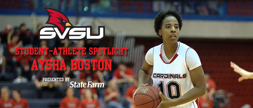 Aysha Boston: 'It's a Great Day to Be a Cardinal!'