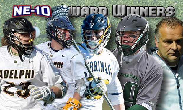 Tuttle Collects Second Player of the Year Honor; NE-10 Men's Lacrosse All-Conference Teams, Awards Released