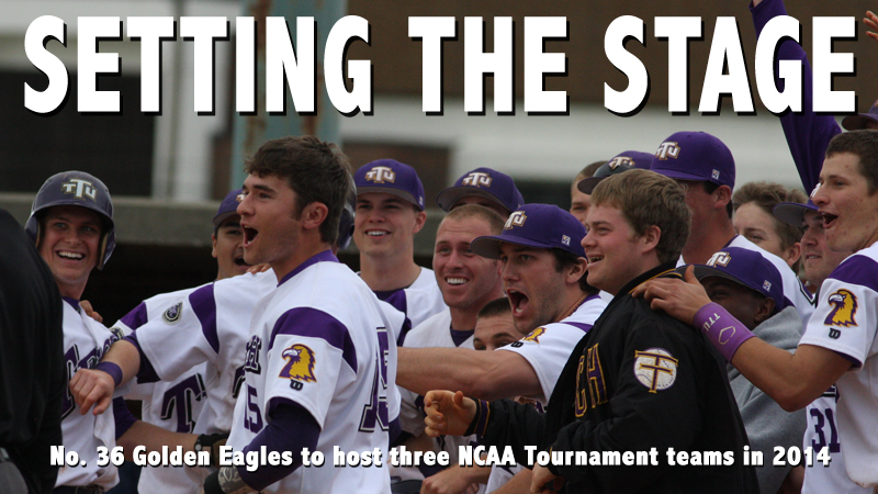 No. 36 Golden Eagles to host three NCAA Tournament teams in 2014