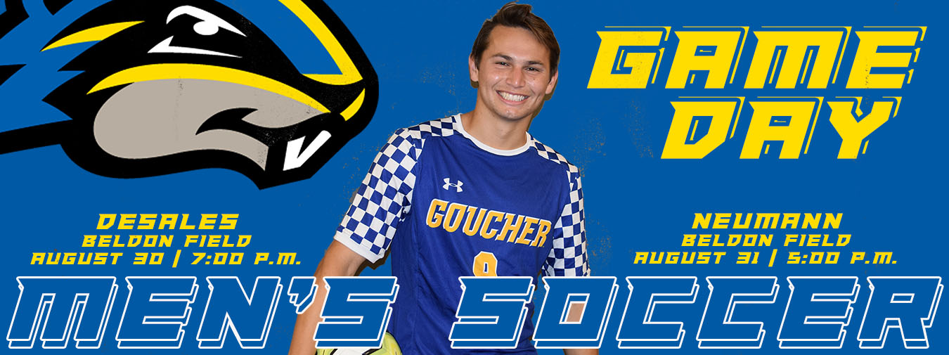 Goucher Men's Soccer Opens Season With A Pair Of Home Games In Next Two Days