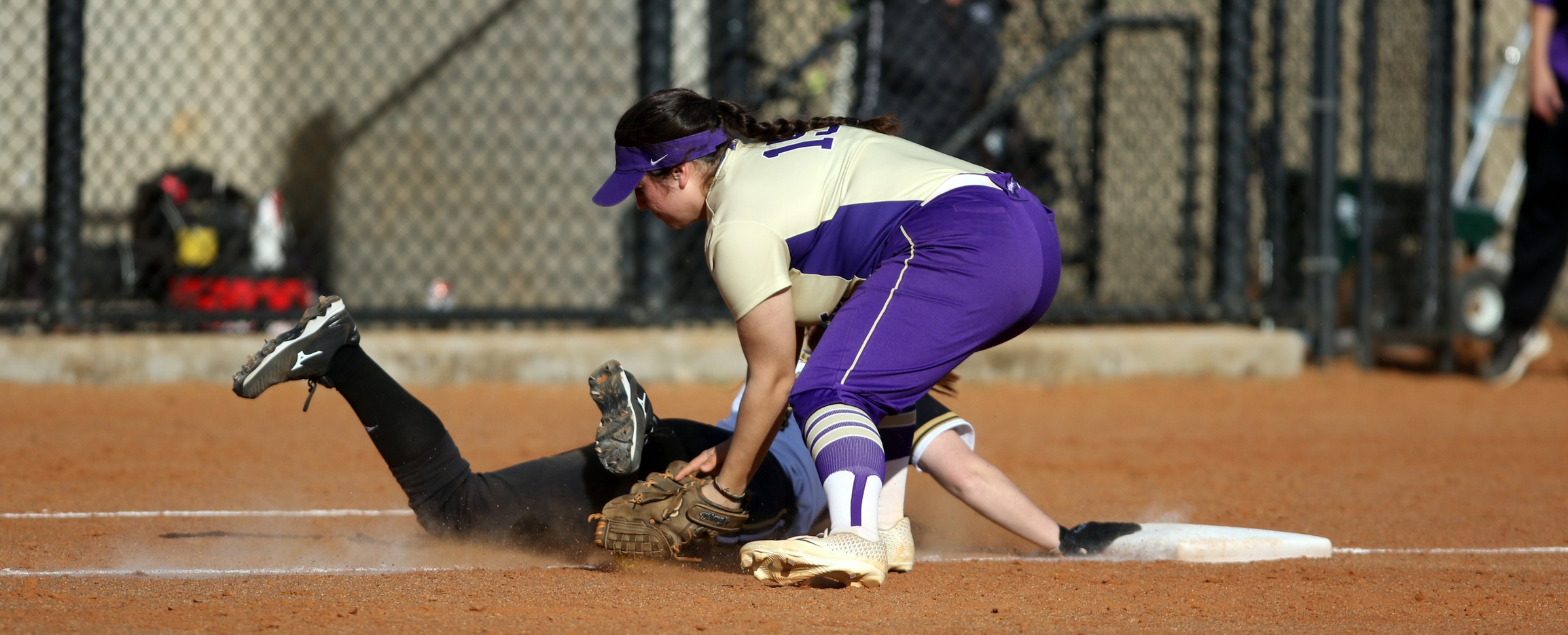 Softball Swept by Emmanuel in Conference Action