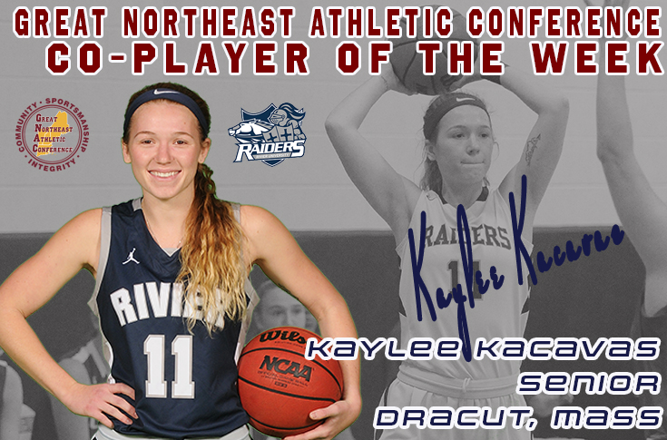 Women's Basketball: Kacavas named GNAC Co-Player of the Week