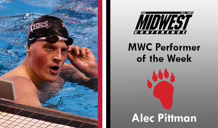 Alec Pittman Named MWC Performer of the Week