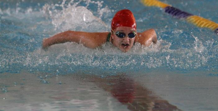 Swim Team competes in Trojan Invitational