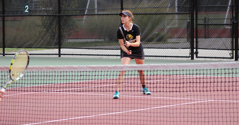 Sollecito Battles Back to Win in Women's Tennis' Loss to Roger Williams
