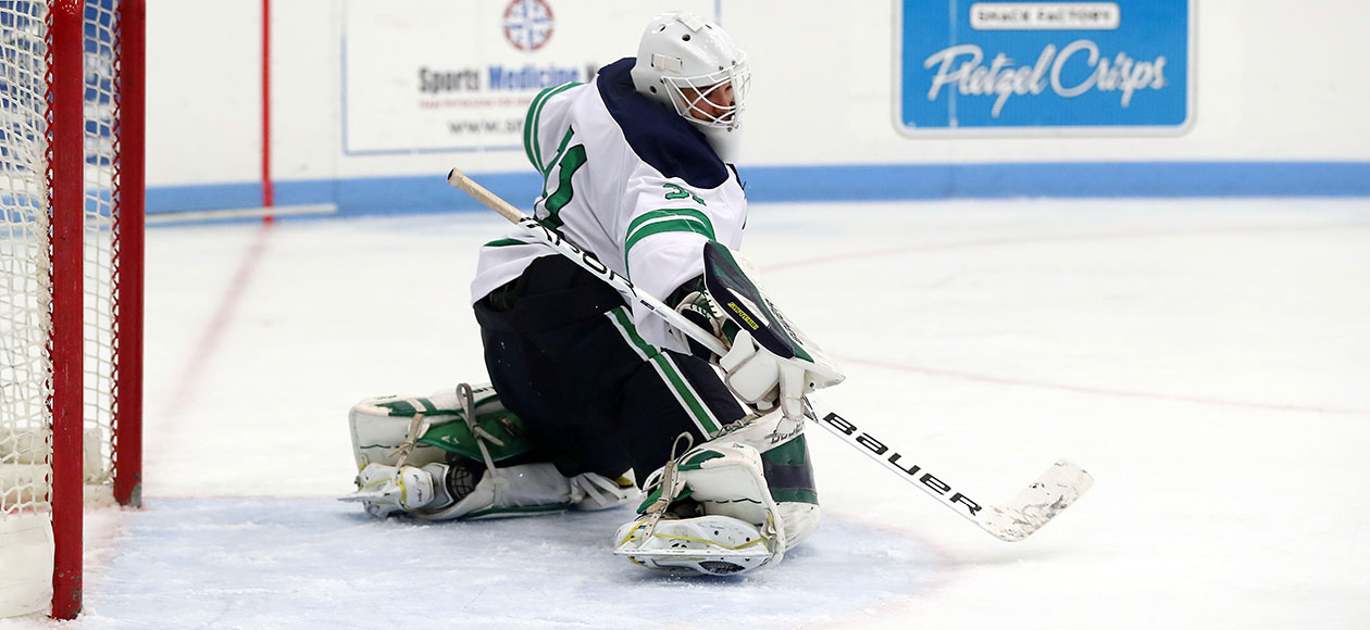 Mark Specia makes a save.