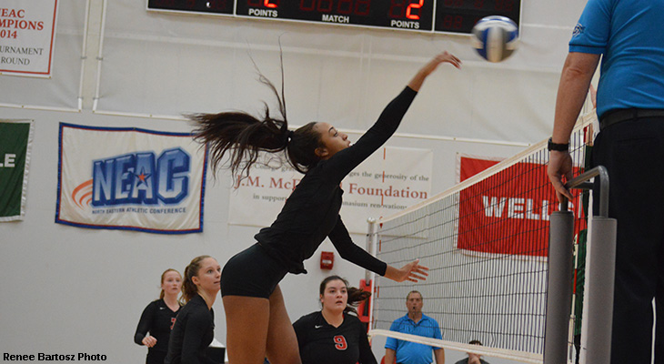 Women's Volleyball Falls In Two Matches