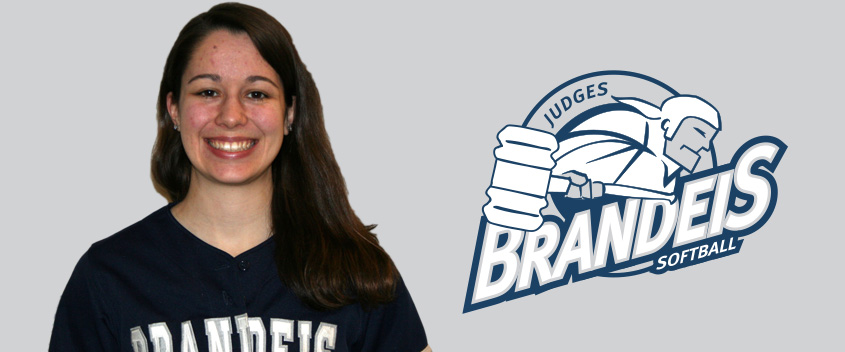 Brandeis softball opens with sweep of Castleton State, 8-0 and 1-0