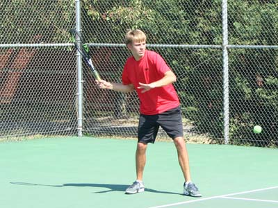 Kyle Kramer named men's tennis captain