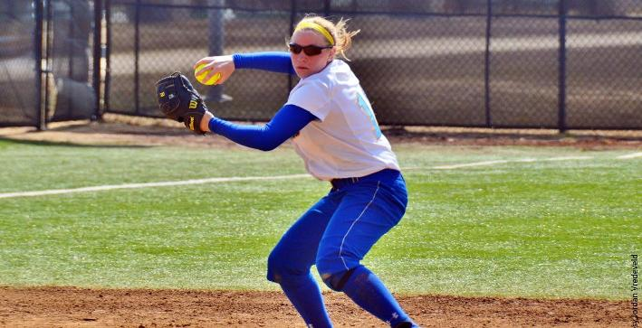 Schuh delivers another shutout, Softball splits with Wisconsin Lutheran