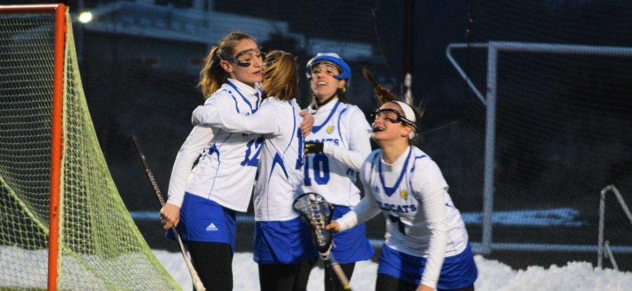 Women's Lacrosse Beats Rivier 21-2 In GNAC Tournament
