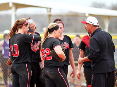 Changes announced for softball's weekend schedule