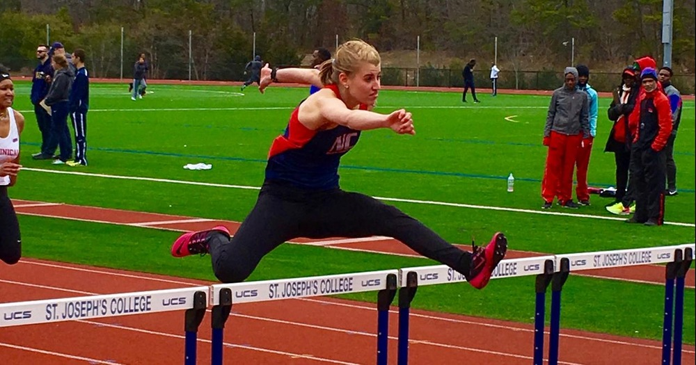 The Nyack Track & Field team launched their season off with the St Joseph College Invitational