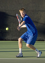 Men's Tennis Successfully Defends Big West Conference Title