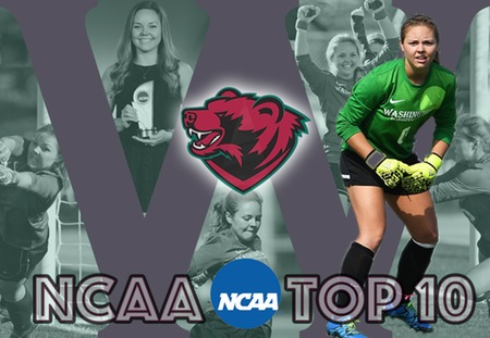 Washington University Graduate Lizzy Crist Selected for NCAA Today's Top 10 Award