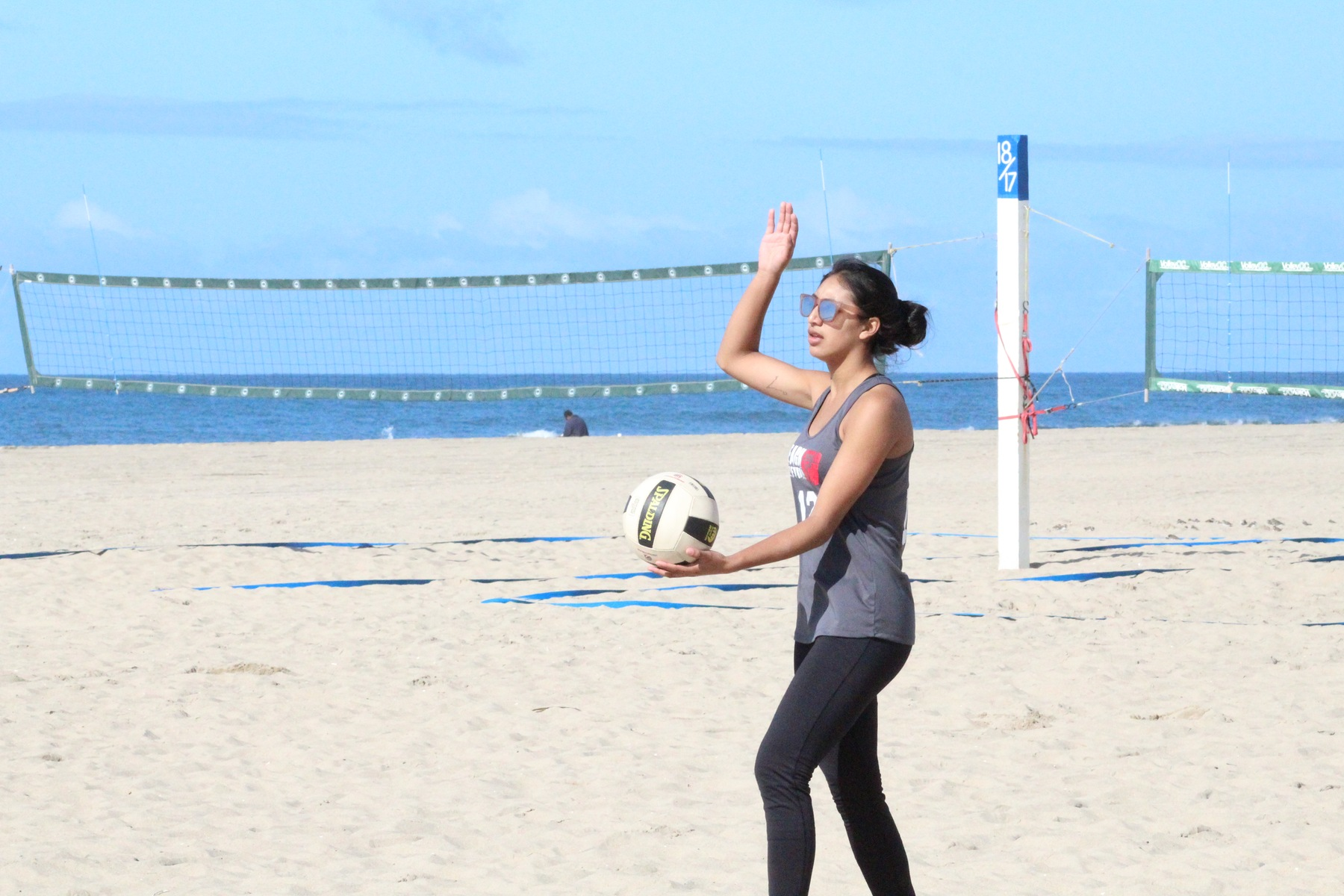 Santa Ana Beach Volleyball Defeats Fullerton 3-2 to Extends Win Streak to Three