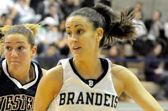 Ethier rallies Brandeis women past Emmanuel, 72-67