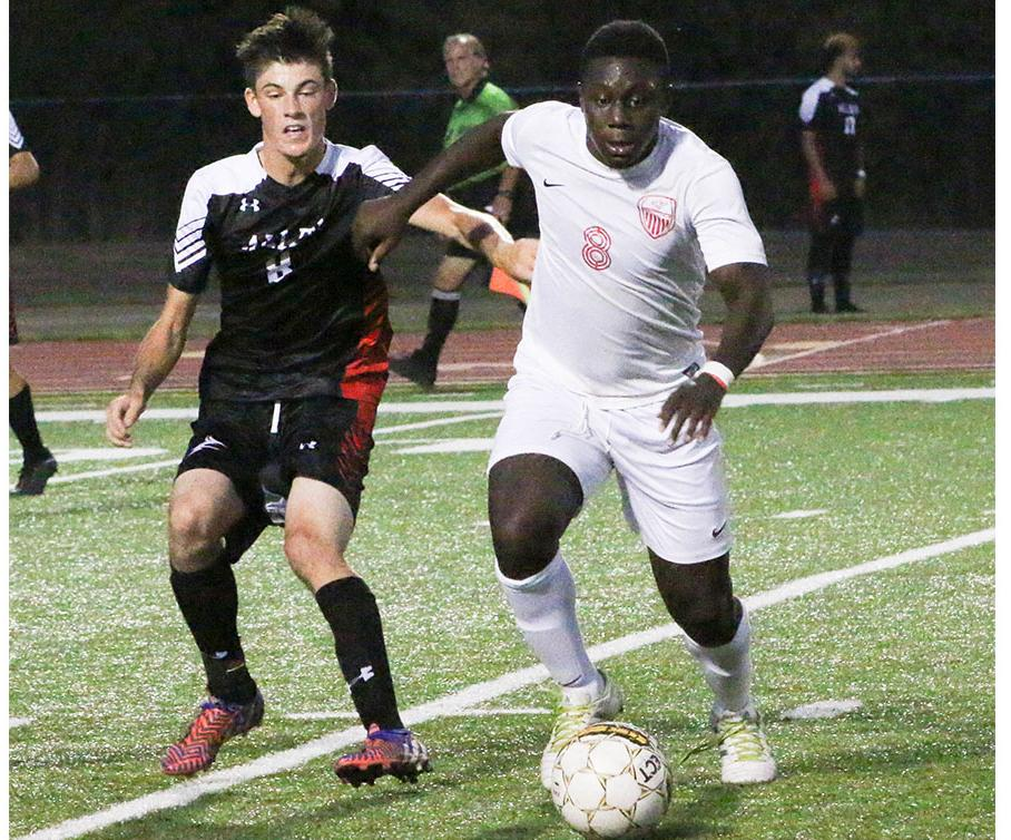 Red Ravens tie Allen in Double OT