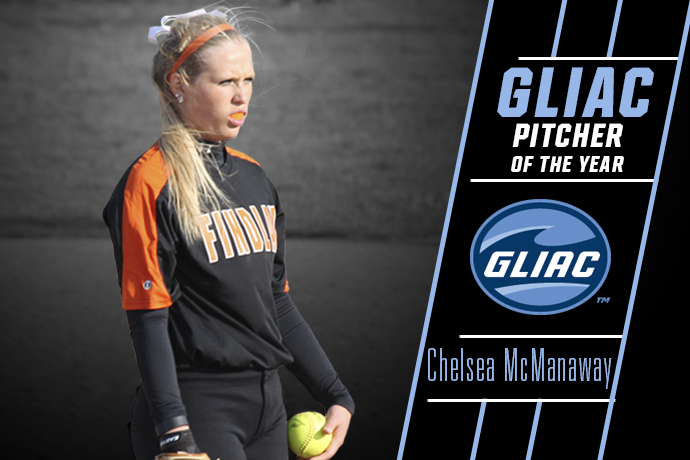 McManaway Named GLIAC Pitcher of the Year