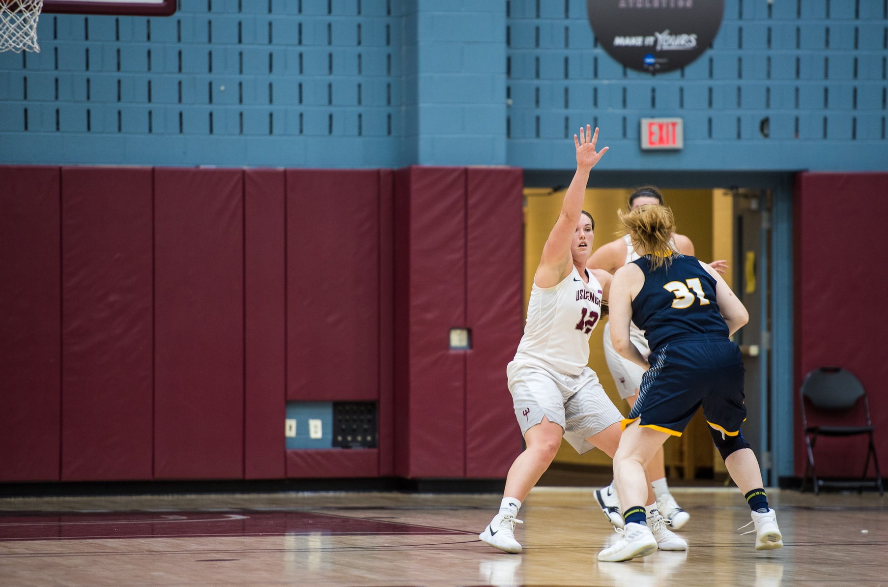 Women's Basketball's Defense Stifles Dominican; Devils Win Eighth Straight