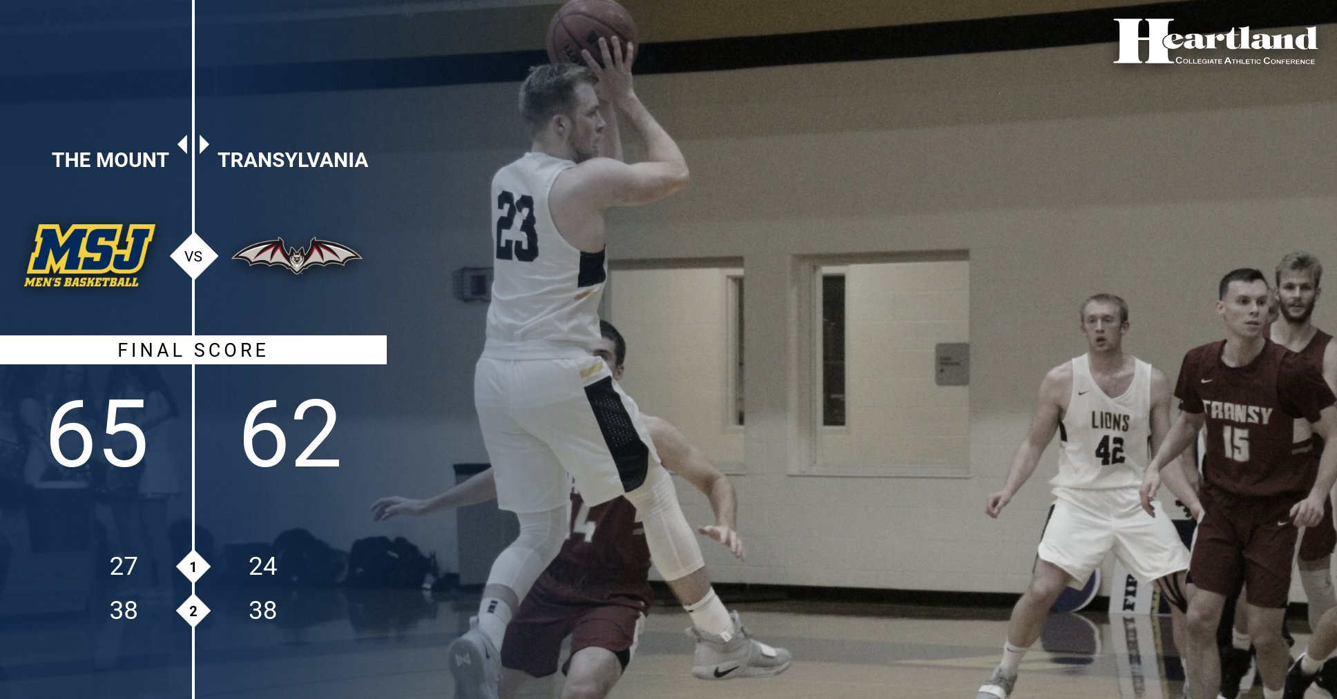Thomas, Young lead Lions to huge HCAC win over Transylvania