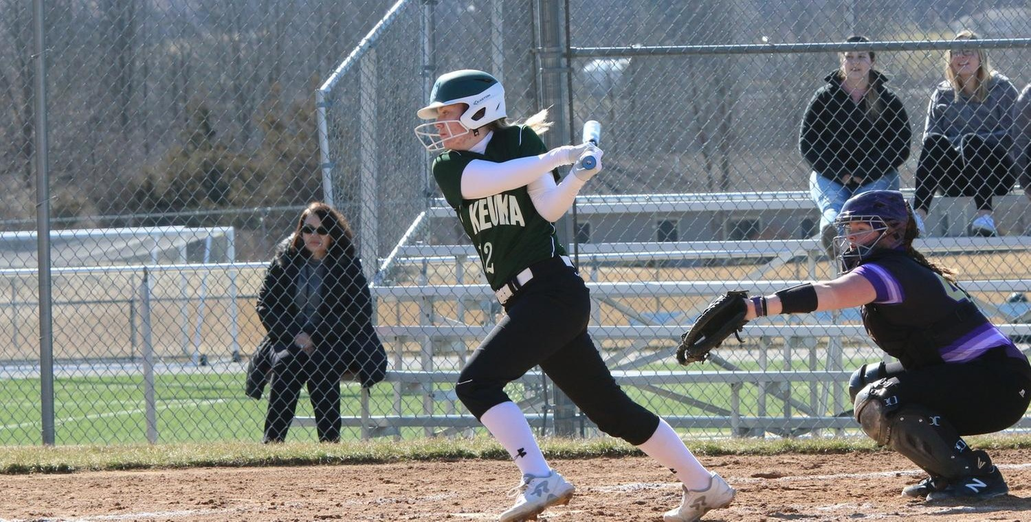 Samantha Cook (12) went a combined 4-4 with 4 runs scored and 4 RBI on Thursday