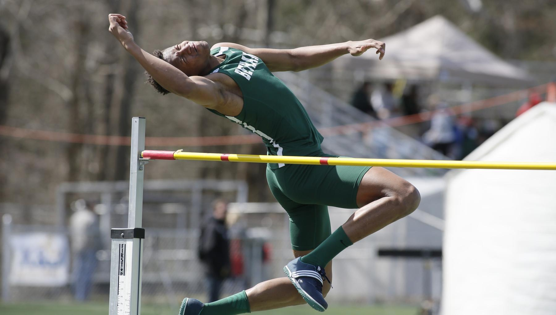 Sallah-Mohammed smashes triple jump record at Bethany Invite