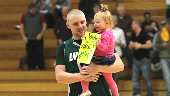 Sackett scores 1,000th point in Lyndon victory